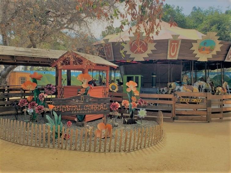 Crystal Corral Carousel at El Dorado Frontier