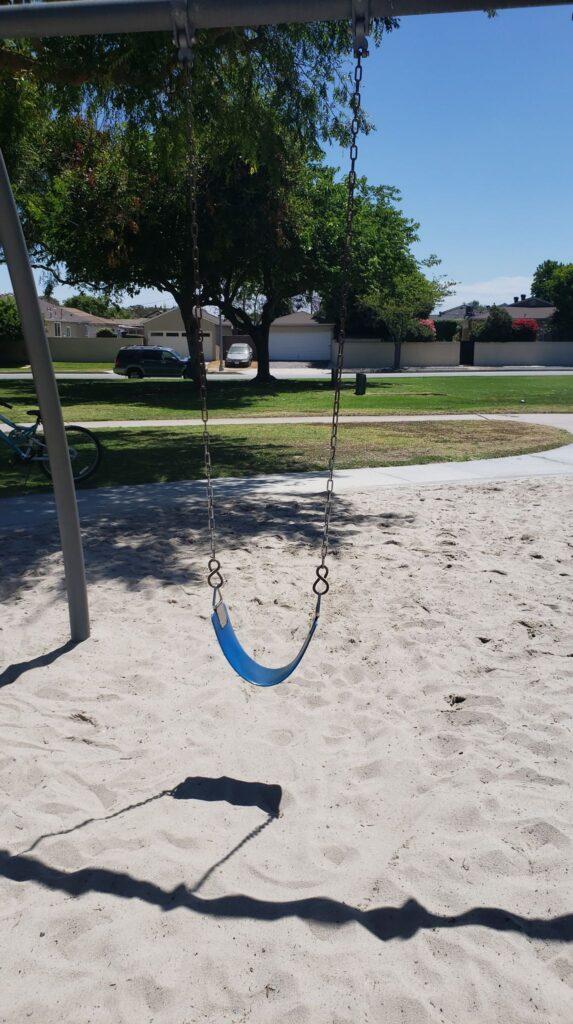 a swing at bolivar park
