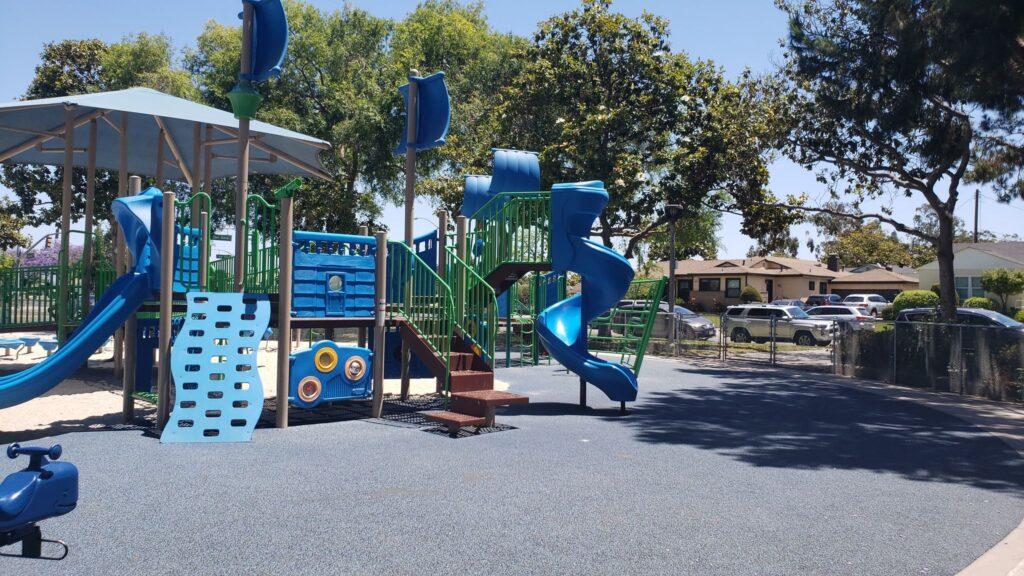 pirate themed playground