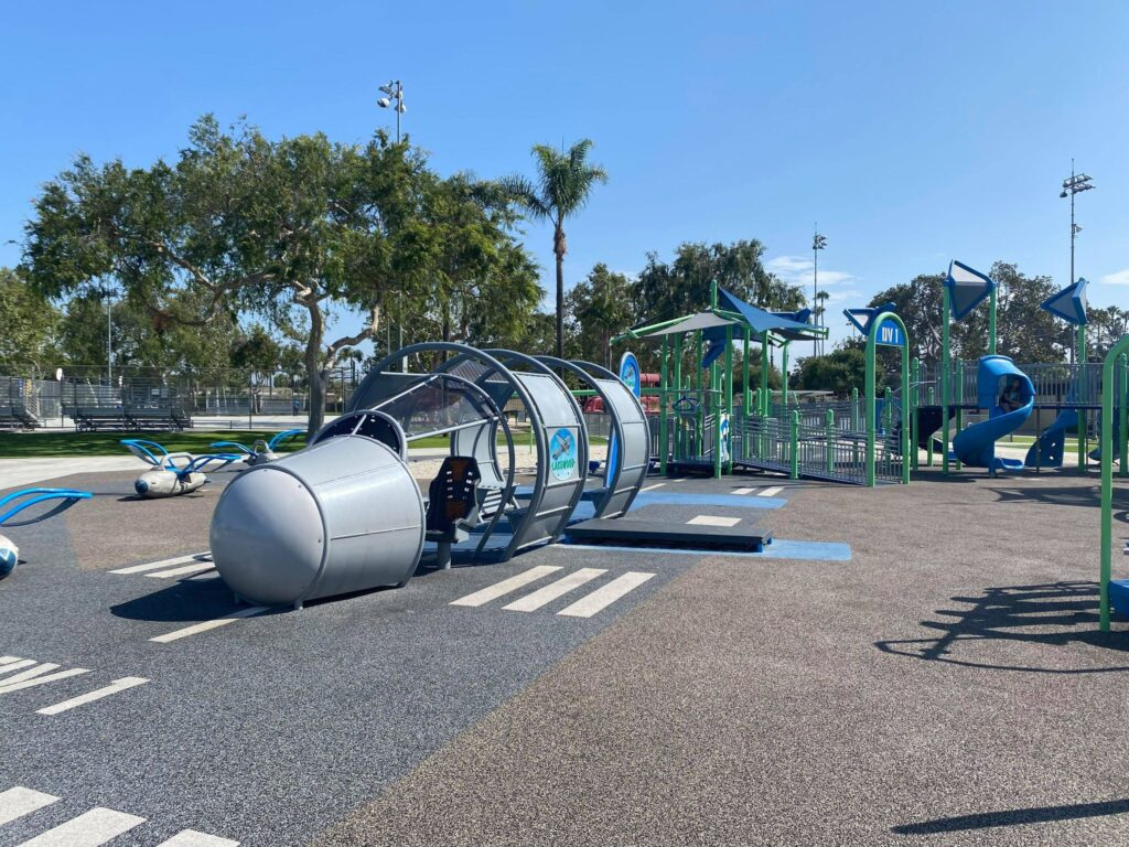 picture of accessible playground