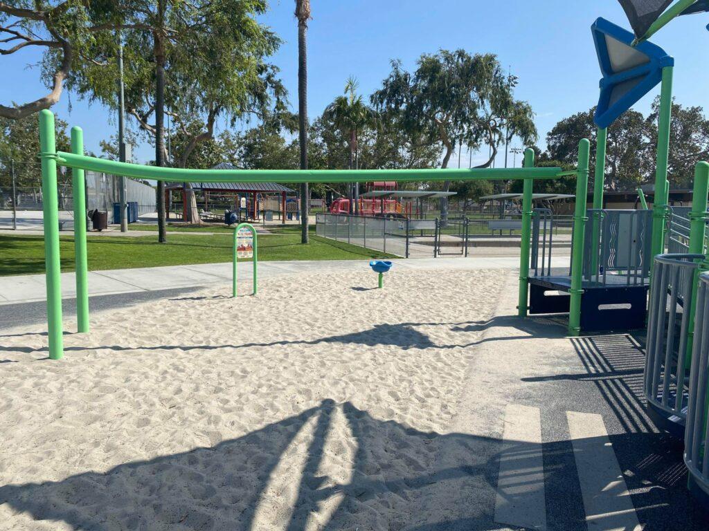 zipline at a park in lakewood