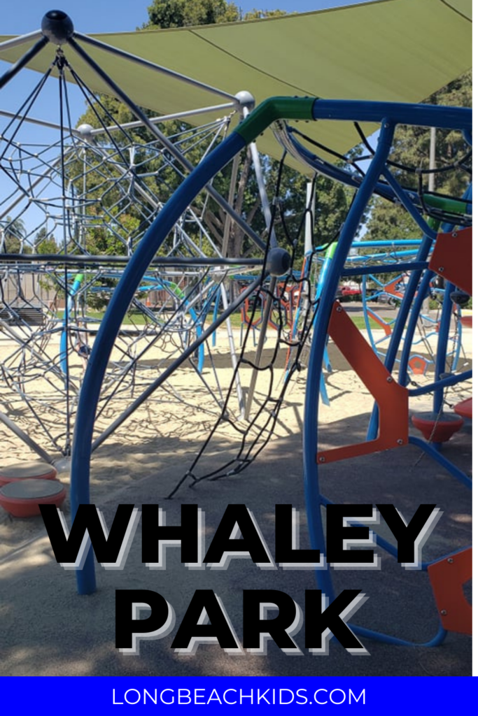 CLIMBING STRUCTURE AT WHALEY PARK IN LONG BEACH