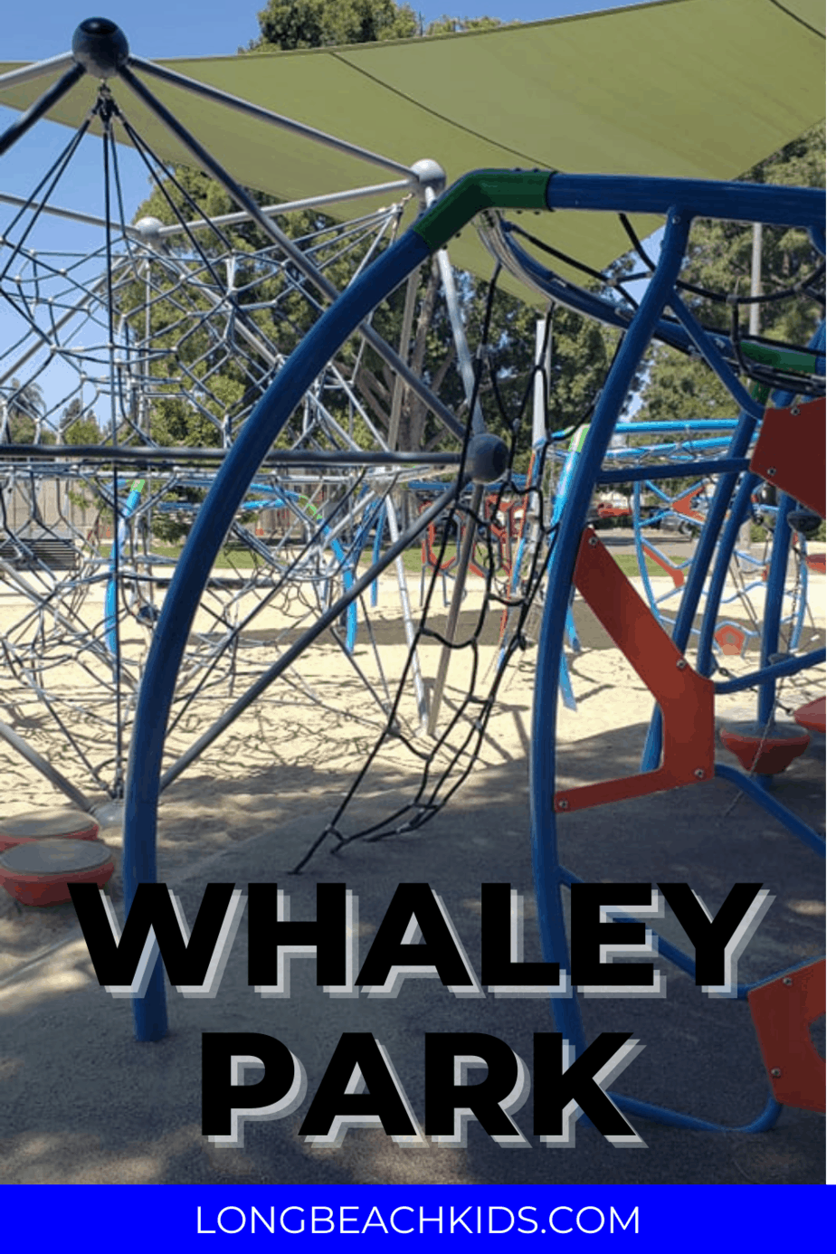 climbing structure; text: whaley park