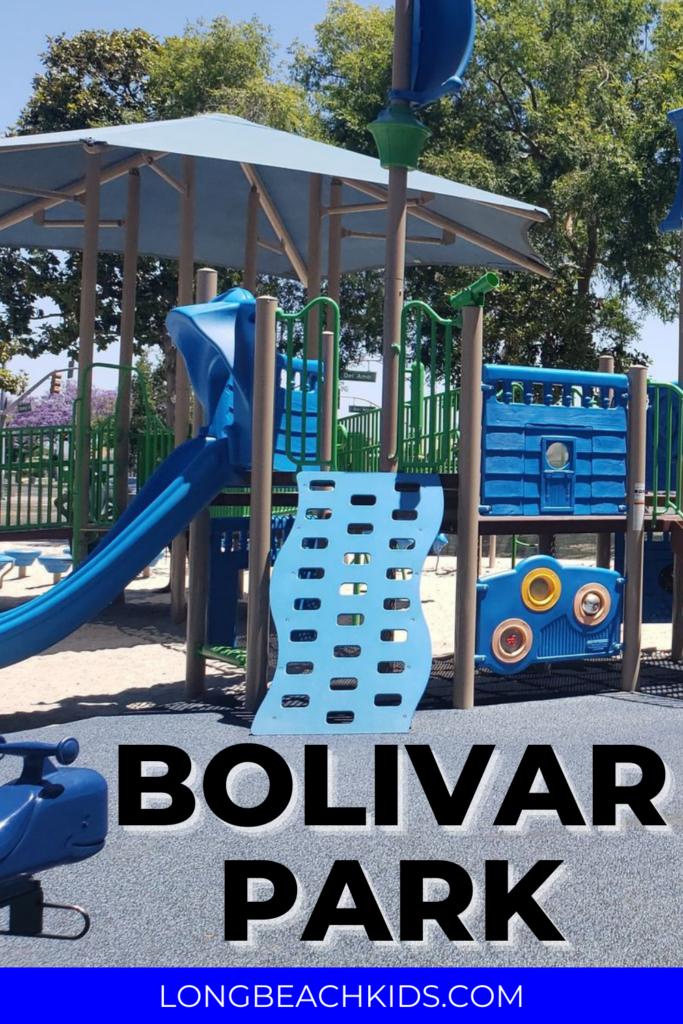 PICTURE OF PLAYDGROUND; TEXT: BOLIVAR PARK