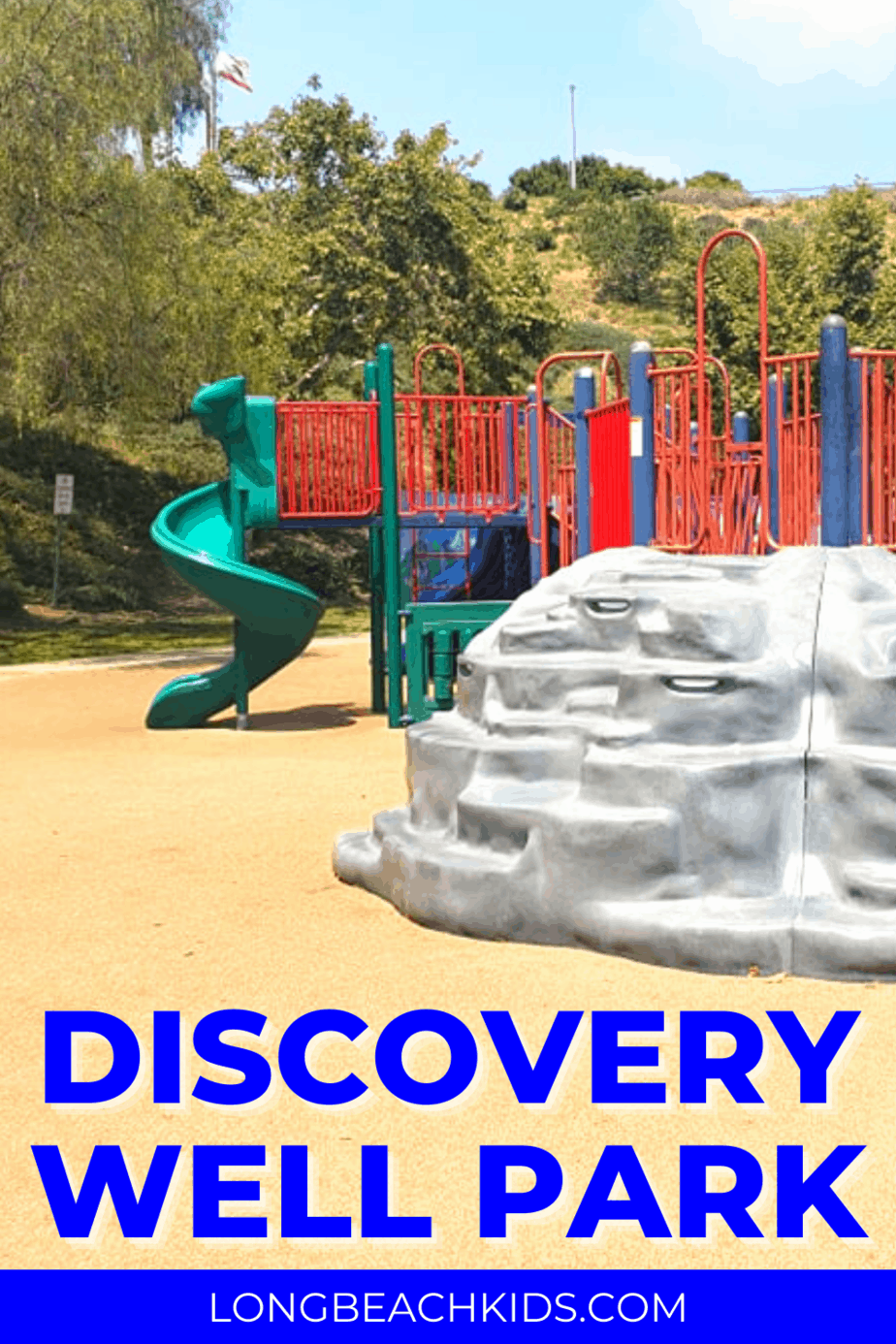 Looking for a fun, secluded and sand free park? Check out Discovery Well Park in Signal Hill